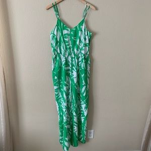 Lilly Pulitzer Target Romper Jumpsuit Palm Green